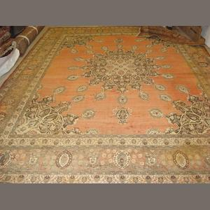 A Tabriz carpet North West Persia, 400cm x 296cm
