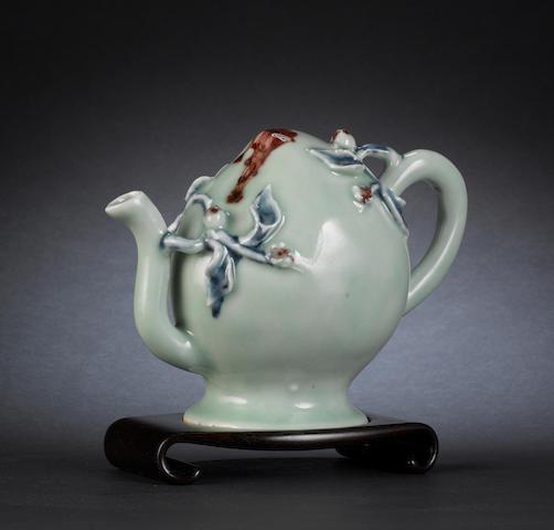 A celadon, 'Cadogan' teapot