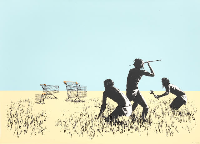 Banksy 'Trolleys'