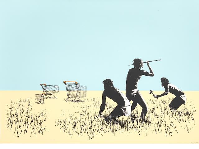 Banksy 'Trolleys'