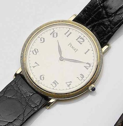 Piaget. An 18ct gold manual wind wristwatch 1990's