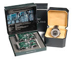 A Breitling Special Edition stainless steel automatic chronograph gentleman's wristwatch for Bentley Motors, presented to Guy Smith,