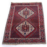 A Bakhtiar long rug, dated 1915