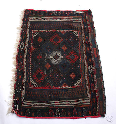 A Baluch saddlebag Each section: 97cm x 67cm