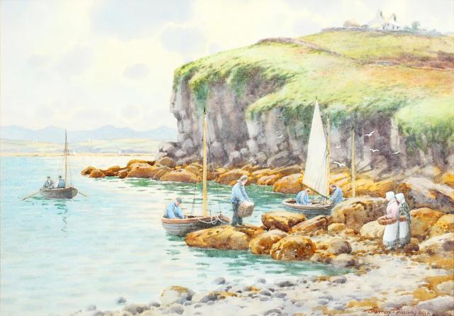 Warren Williams (British, 1860-1941) Tyn-y-Gongl, Anglesey