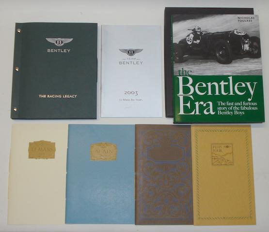 A Bentley at Le Mans 'The Racing Legacy' commemorative presentation pack, 2003,