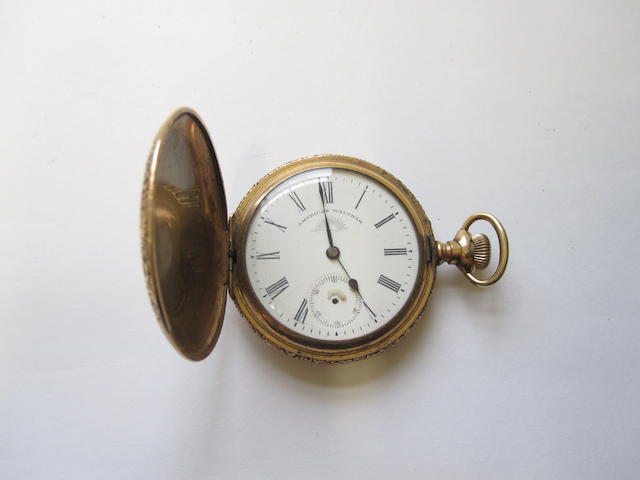 A hunter pocket watch