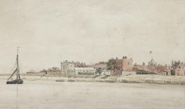 John Constable, RA (British, 1776-1837) On the Lower Thames