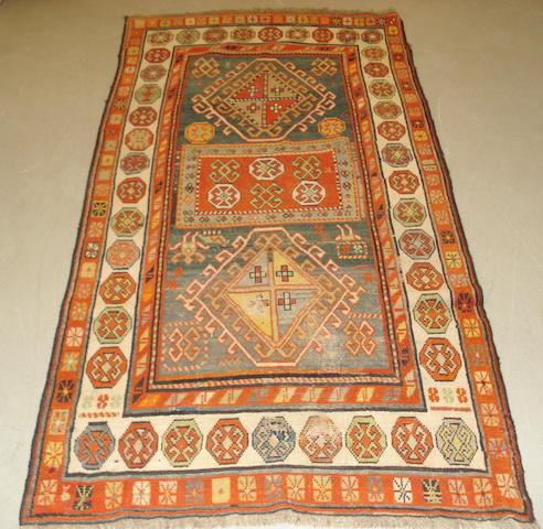 A South Caucasian rug, 206cm x 102cm