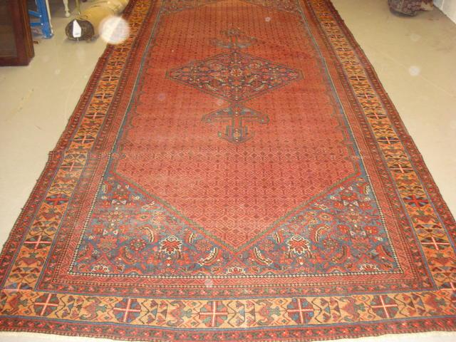 A Hamadan khelleh West Persia, 428cm x 193cm