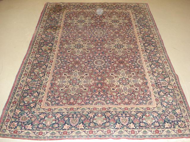 A Tabriz rug  North West Persia, 210cm x 143cm