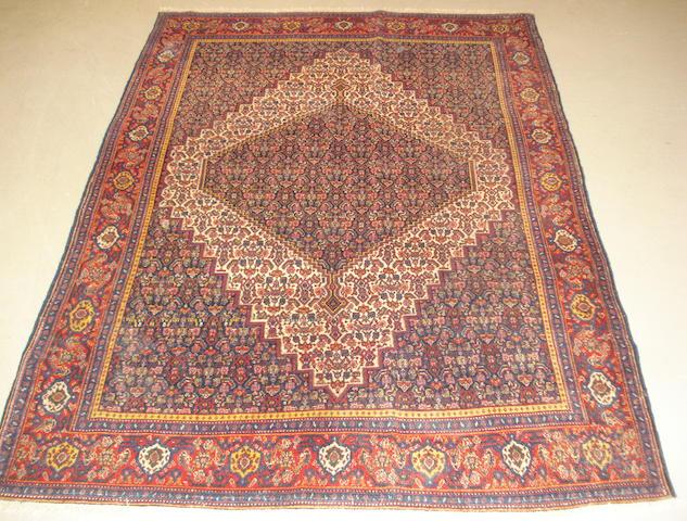 A Senneh rug