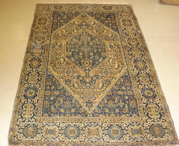 A Sarouk rug, West Persia, 205cm x 128cm