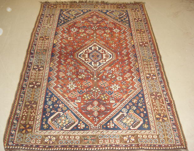 A Kashgai rug, South West Persia, 210cm x 141cm