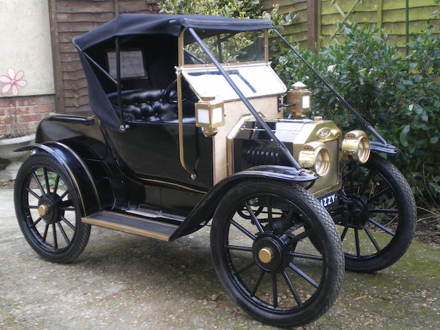 A half scale Model 'T' Ford electric child's car,