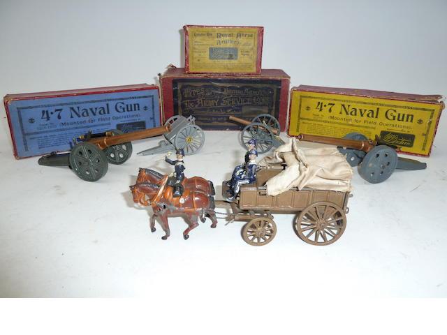 Britains Royal Artillery Gun 66 excluding sandbags