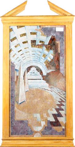 Melvyn Rodda, 20th Century Arched interior