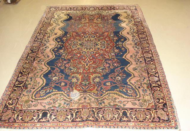 A Sarouk rug, West Persia, 225cm x 146cm