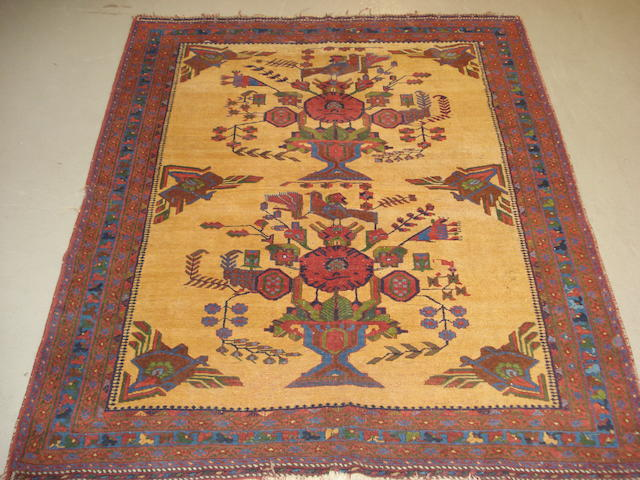 An Afshar rug, South West Persia, 180cm x 151cm