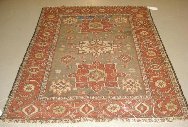 A Karaja rug, West Persia, 180cm x 141cm