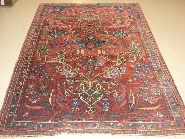 A Bijar rug Persian Kurdistan, 202cm x 140cm