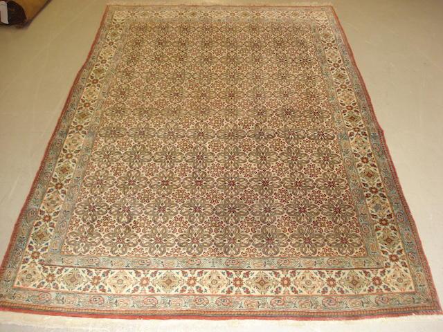A Ghom rug,  Central Persia, 211cm x 141cm