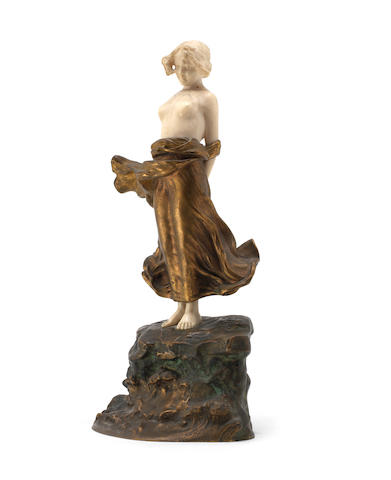 Alonzo bronze and ivory