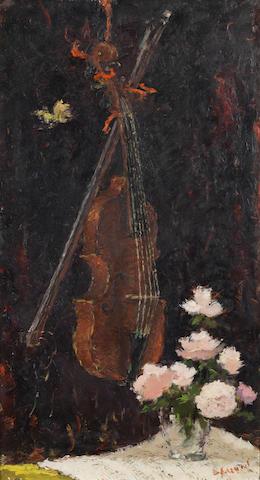 Dietz Edzard (German, 1893-1963) Le papillon égare