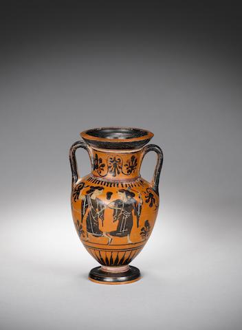 An Attic black-figure amphora