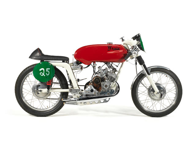 1965 Fruin 200cc Four-cylinder Racing Motorcycle Frame no. 419220S Engine no. BF2