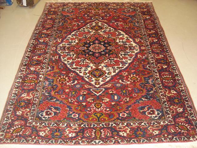 A Bakhtiar rug, West Persia,