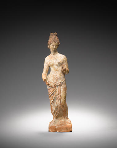 A Greek terracotta figure of Aphrodite