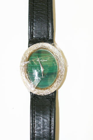 Bueche Girod: An 18ct white gold wristwatch