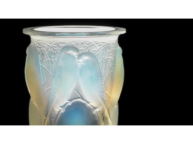 René Lalique 'Ceylan' a Vase, design 1924