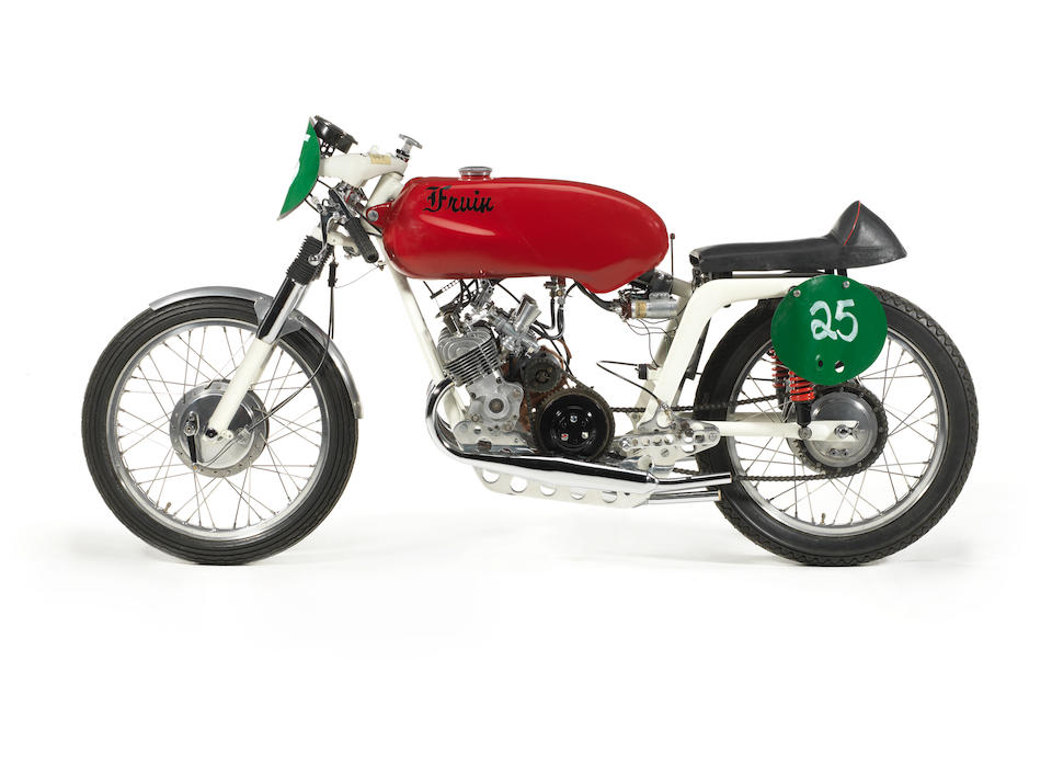 1965 Fruin 200cc Four-cylinder Racing Motorcycle Frame no. 409221S Engine no. BF2