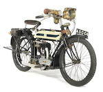 1915 Triumph 550cc Model H Frame no. 263545 Engine no. 40910JFC3572