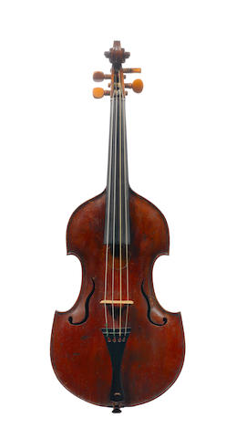 A Viola d'Amore (converted) of the English School, early 18th century (1)