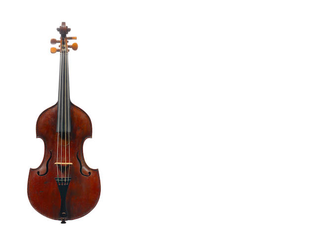 A Viola d'Amore (converted)of the English School, early 18th century (1)