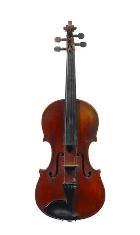 A Violin attributed to Michele and Pietro Mellegari, Turin, 1871  (2)