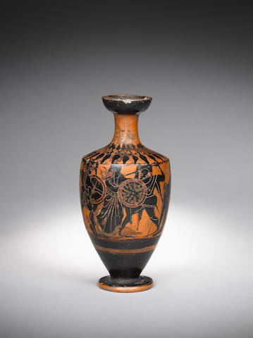 An Attic black-figure lekythos