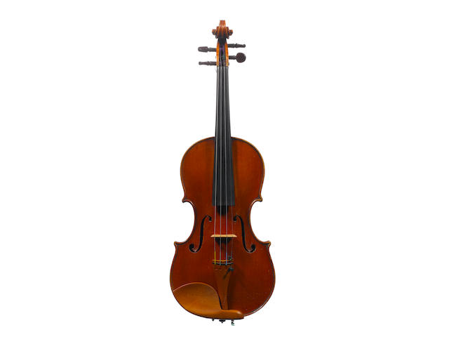 An Italian Violin by Eugenio Degani,  Venice, 1897 (3)