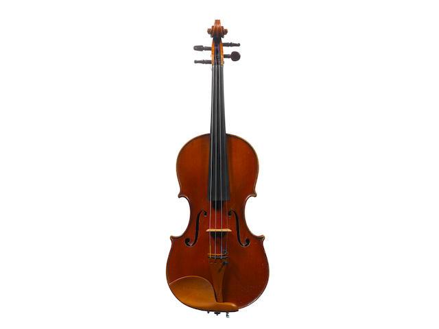 An Italian Violin by Eugenio Degani, Venice, 1897 (3)