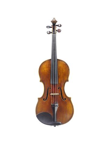 A Violin by N.F Vuillaume, Brussels, 1833 (1)