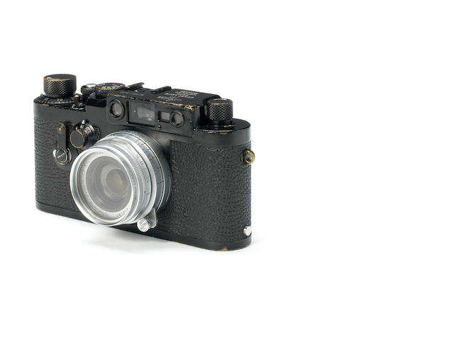 A Leica IIIG Swedish army with 5cm lens