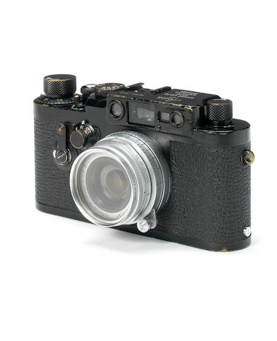 Leica IIIG Swedish army body, with Elmar f2.8 5cm lens,