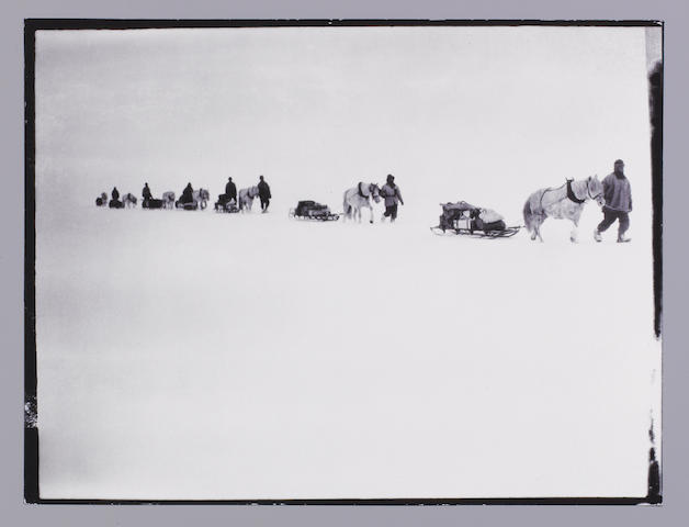 SCOTT (ROBERT FALCON) The Photographs of Captain Robert Falcon Scott on the Terra Nova Expedition to the Antarctic in 1910-1912, NUMBER ONE OF A LIMITED EDITION OF 20 COPIES