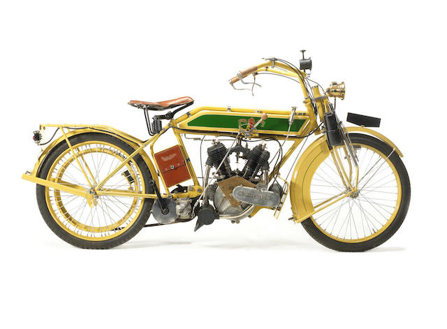 1912 Matchless 8hp Model 7 Frame no. A768 Engine no. 12181