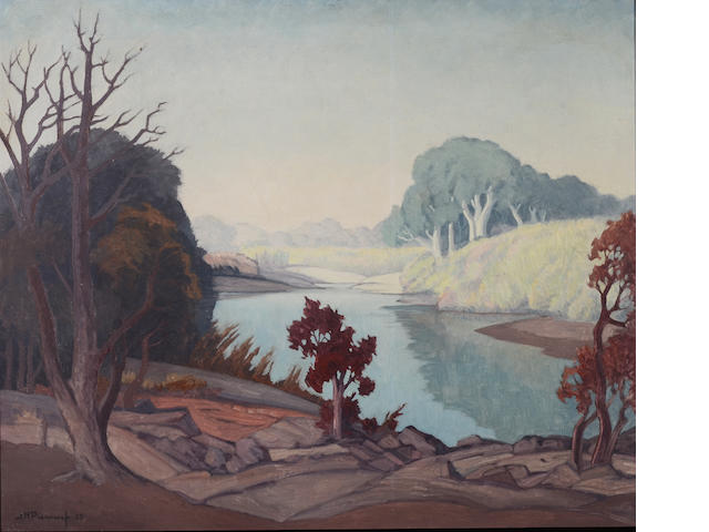 Jacob Hendrik Pierneef (South African, 1886-1957) Transvaal River