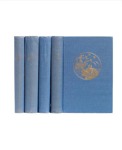 AAGAARD (BJARNE) Fangst og Forskning i Sydishavet, 3 vol., FIRST EDITION, Gyldenal Norsk Forlag, 1930-1934