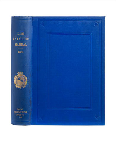 MURRAY (GEORGE) The Antarctic Manual for the use of the Expedition of 1901, FIRST EDITION, Royal Geographical Society, 1901